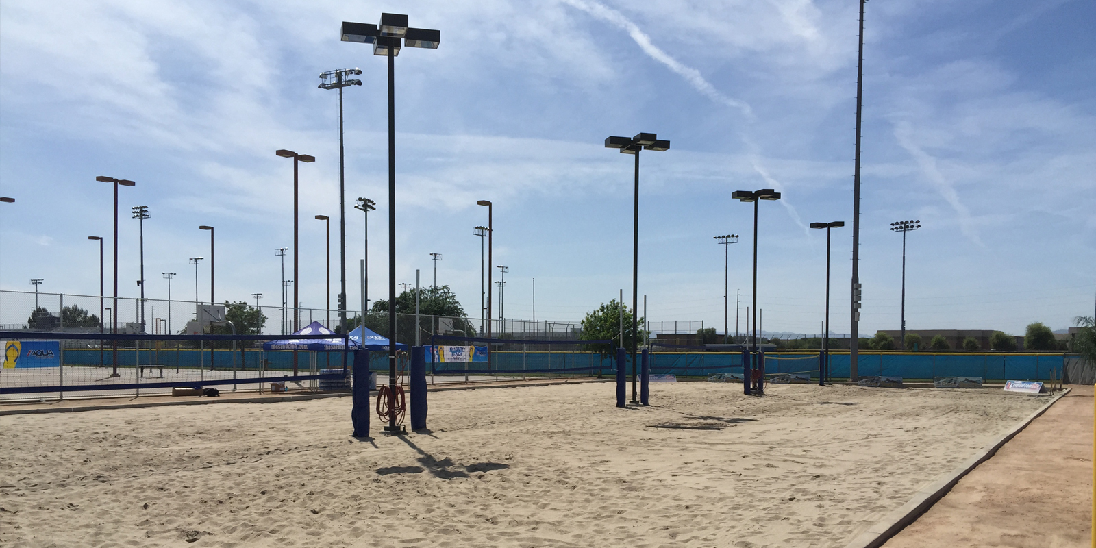Sand Volleyball Court Construction Commercial General Contractor Affinity Solutions Experts